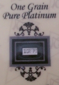 1 GRAIN 99.9 Pure Platinum Bullion Bar - CERTIFICATE