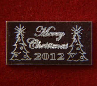 1 GRAM - LIMITED EDITION - MERRY CHRISTMAS BAR